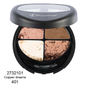 Четырехцветные тени Flormar Compact Quartet Eye Shadow 401-2732101